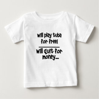 rolig tuba t shirts