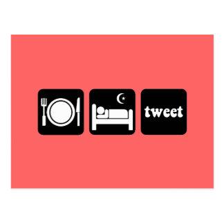 Rolig tweet vykort