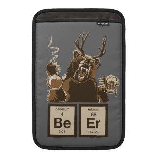 Rolig upptäckt öl för kemi björn sleeve för MacBook air