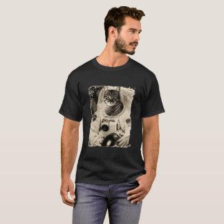 Rolig utrymmekatt - Catronaut- T-tröja Tröja