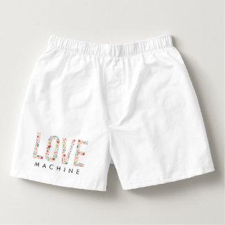 Rolig valentin maskin för dagkärlek boxers