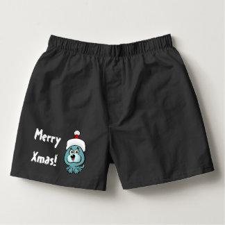 Rolig valp Santa Boxers