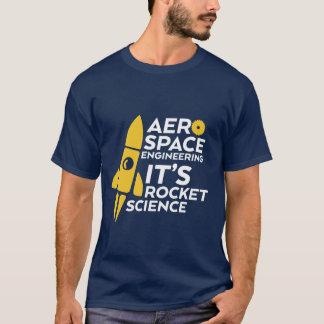 Rolig vetenskap för raket för rymdingenjörT-tröja Tee Shirt