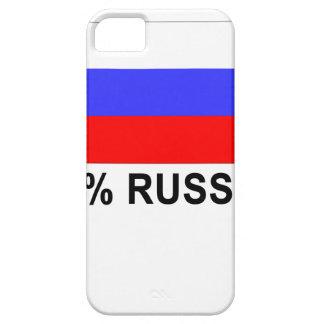 Roliga 100 procent rysk gåvagåva iPhone 5 Case-Mate skydd