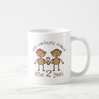Roliga 2nd bröllopsdaggåvor kaffemugg