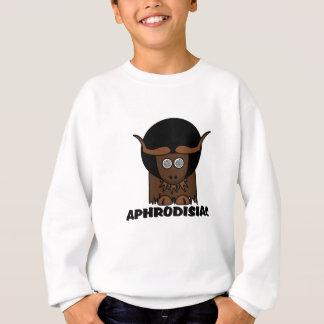 Roliga afro- yr Yak för Aphrodisiac Tee