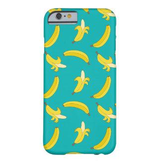 Roliga borta bananer illustrerat mönster barely there iPhone 6 fodral