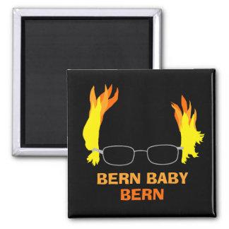 Roliga brännheta Bern Bernie för hårBern baby Magnet