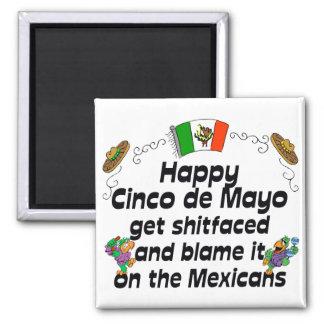 Roliga Cinco de Mayo Magnet