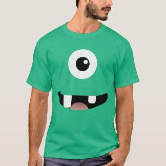 Roliga Cyclops En-Synad gigantisk Halloween dräkt Tee Shirts