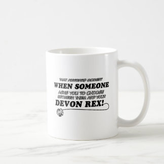 Roliga DEVON REX-designer Kaffemugg