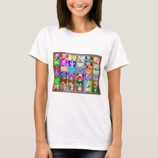ROLIGA diagram: Fjärilen gnistra för tecknad n Tee Shirts