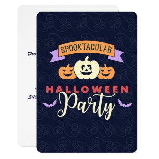 Roliga dräkthalloween festinbjudningar 12,7 x 17,8 cm inbjudningskort