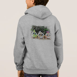 Roliga fågelungeHoodies Tshirts