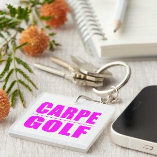 Roliga flickagolfarecitationstecken: Carpe Golf