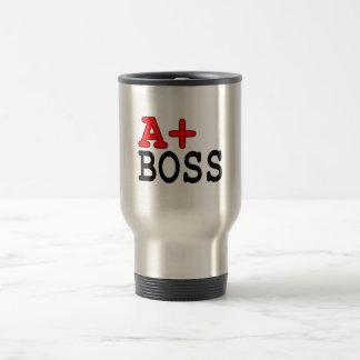 Roliga gåvor för chefer: A+ Chef Kaffe Koppar