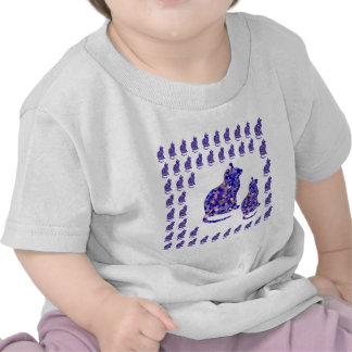 ROLIGA gåvor för hälsningar för mall för kärlek T-shirt