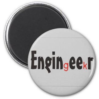 """Roliga gåvor för ingenjör""""Geek"""" Magnet"""