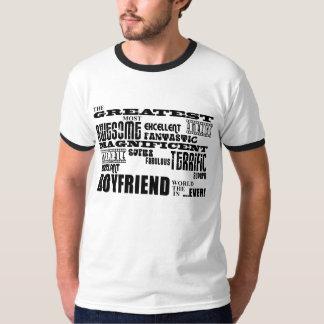 Roliga gåvor för pojkvänner: Mest underbar pojkvän T-shirt