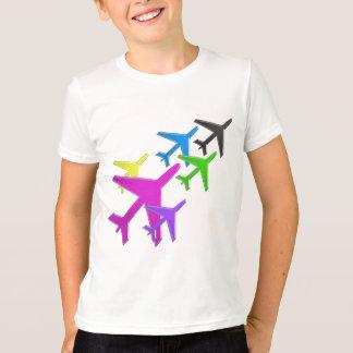 ROLIGA GÅVOR för voyageurs för vol för avion för Tee Shirt