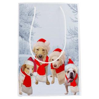 Roliga hundar/den gul lab julgåvan hänger lös