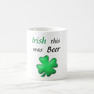 Roliga irländska Sts Patrick dag Kaffemugg