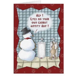 Roliga julkort: Avskildhet behar Hälsningskort