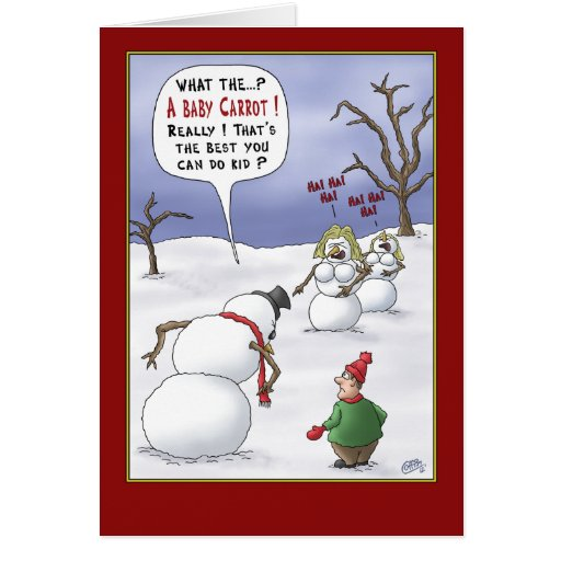 Roliga julkort: Formatmaterier Hälsningskort