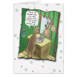 Roliga julkort: Funktionsduglig julafton Kort
