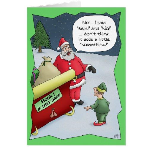 Roliga julkort: Lomhört Hälsnings Kort