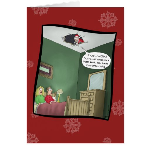 Roliga julkort: Olyckan Hälsningskort
