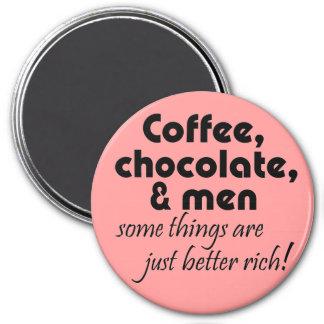 Roliga kvinna magneter för coffeee för skämt för