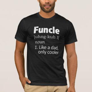 Roliga manar för Funcle Uncleordstäv skjorta T Shirt