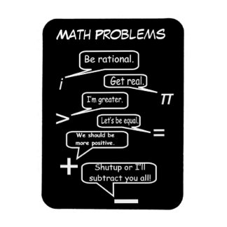 Roliga Mathproblem Magnet