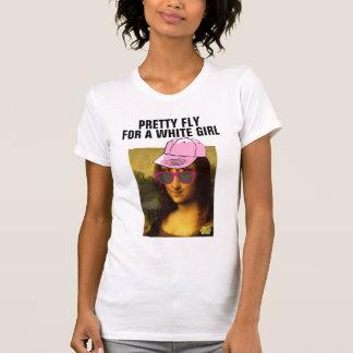 """Roliga moderna Monalisa T-tröja, """"söten flyger """", Tshirts"""
