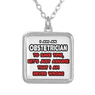 Roliga ObstetricianT-tröja och gåvor Anpassningsbara Smycken