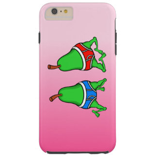 Roliga Pears för gay pride som dansar i deras Tough iPhone 6 Plus Skal