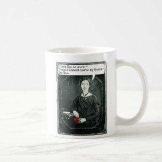 Roliga PoetEmily Dickinson valentin dag Kaffemugg
