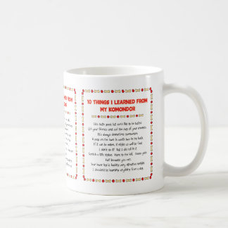 Roliga saker mig som är lärd från min Komondor Kaffemugg
