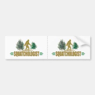 Roliga Sasquatch | stor fot tro |! Bildekal