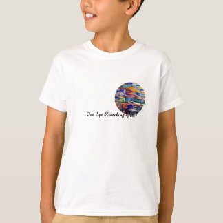 Roliga solansikten, en ögaSunFace T-tröja Tröjor