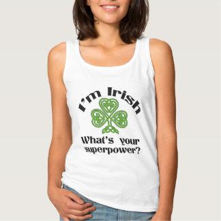 Roliga Sts Patrick för irländsk Superpower dag Linne