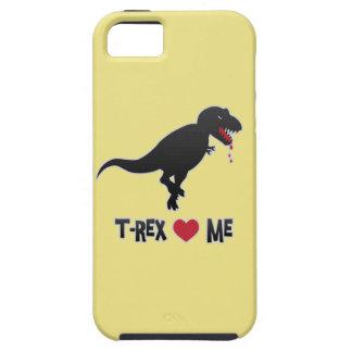 Roliga T-Rex älskar (att äta) mig iPhone 5 Fodral