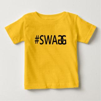 Roliga trendigcitationstecken för #SWAG/SWAGG, T Shirts