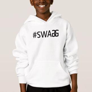 Roliga trendigcitationstecken för #SWAG/SWAGG, Tröjor