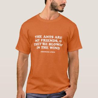 Roliga typografiska misheard sånglyrisk dikt tröja