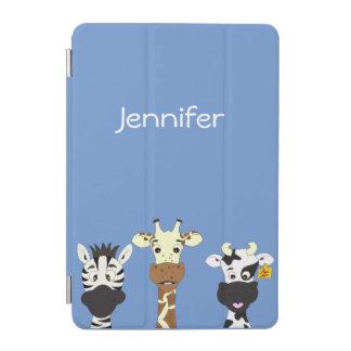 Roliga ungar för tecknad för sebragiraffko iPad mini skydd