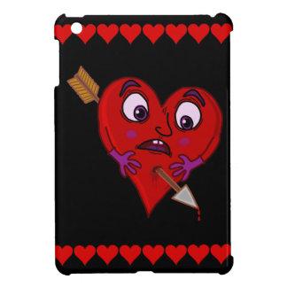 Roliga valentin hjärta med pilen iPad mini skydd