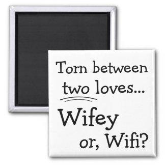 Roliga Wifey eller Wifi Magnet