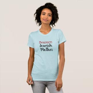 Roligt akta sig den judiska morskjortan tshirts